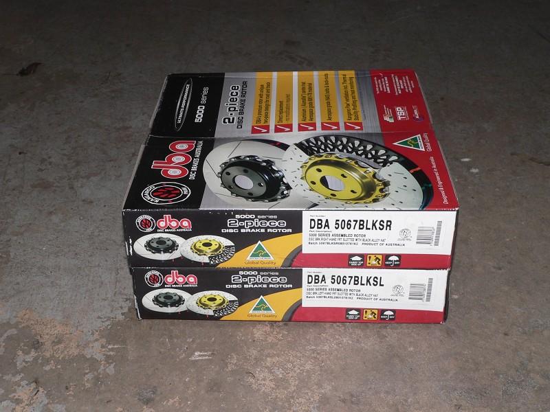DBA 5000 series rotors for C5 Z06